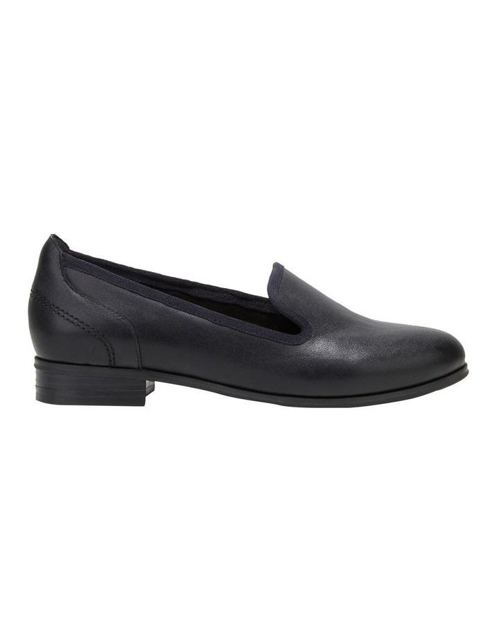 The Albert Black Flat Shoe image 1