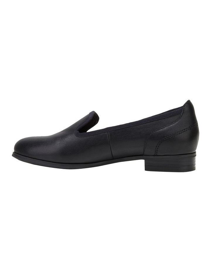 The Albert Black Flat Shoe image 3