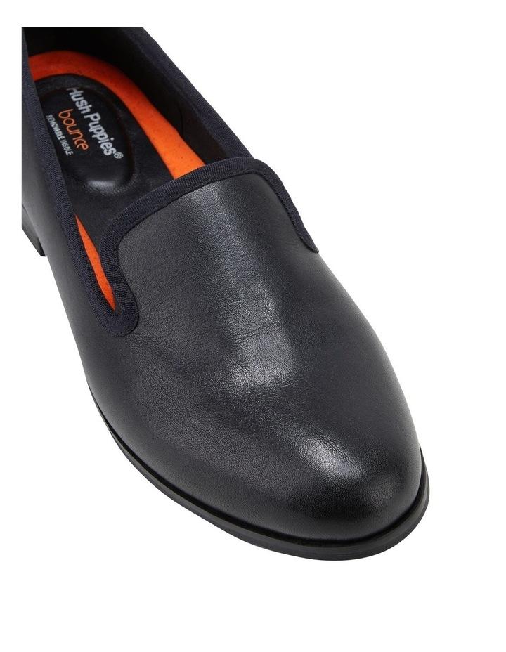 The Albert Black Flat Shoe image 4