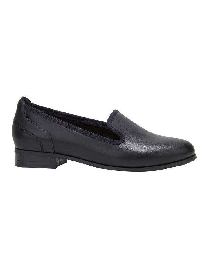 The Albert Black Flat Shoe image 5