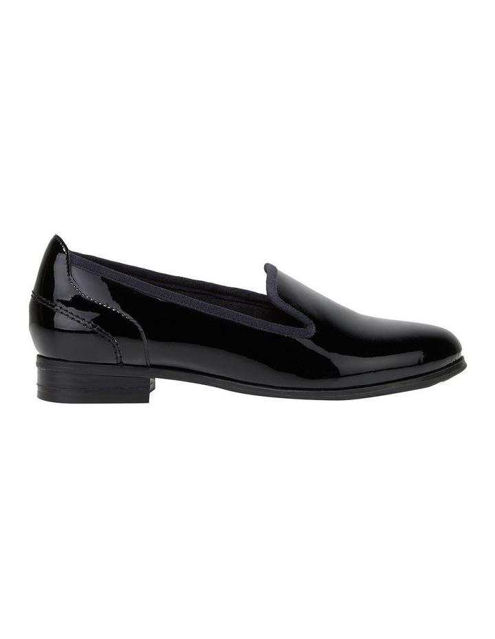The Albert Black Patent Flat Shoe image 1