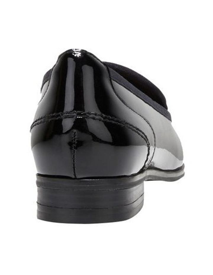 The Albert Black Patent Flat Shoe image 2
