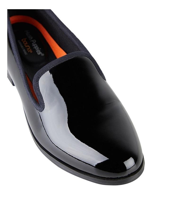 The Albert Black Patent Flat Shoe image 4