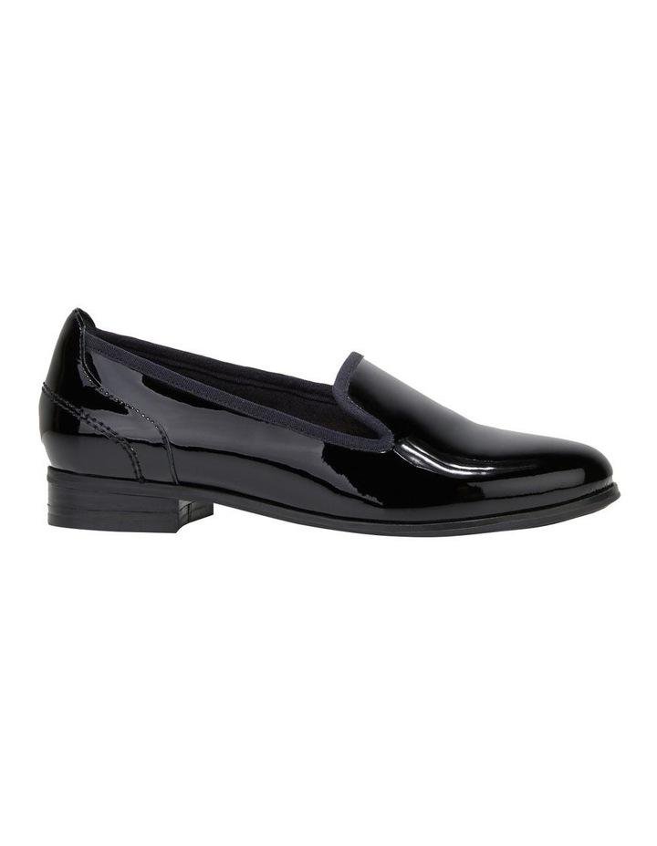 The Albert Black Patent Flat Shoe image 5