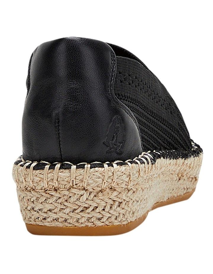 Baha Black Flat Shoe image 2