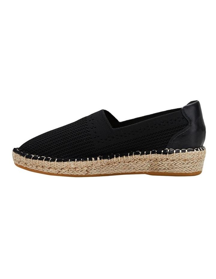 Baha Black Flat Shoe image 3