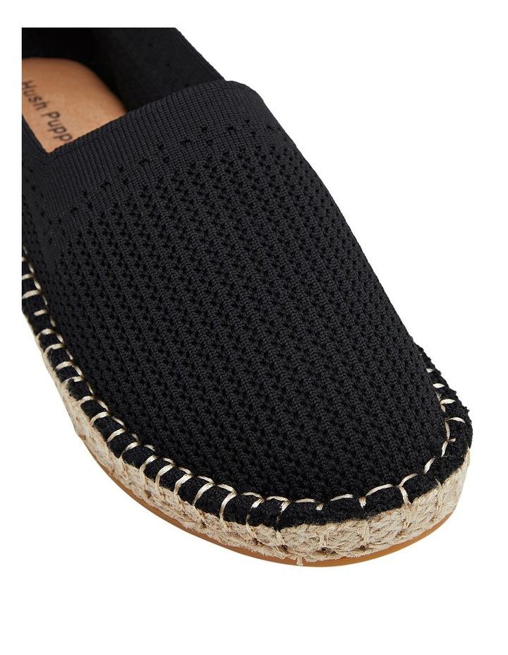 Baha Black Flat Shoe image 4