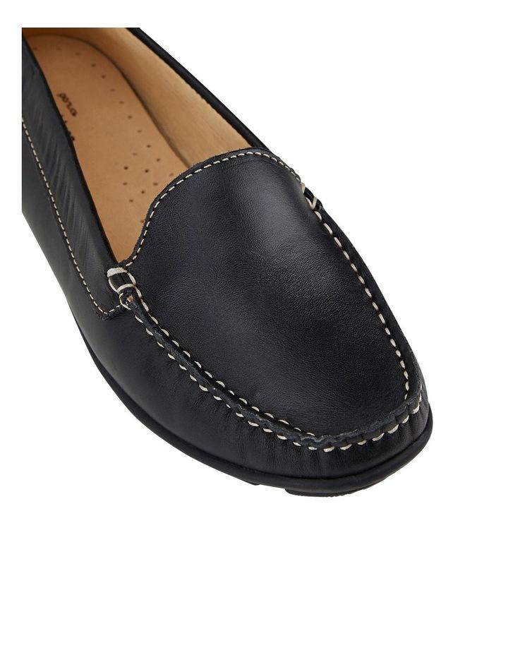 Renita II Black Flat Shoe image 2