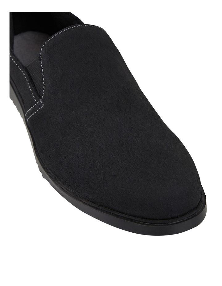 The Everyday Slip On Black Flat Shoe image 2