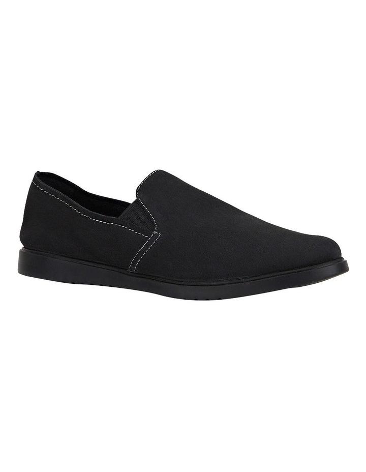 The Everyday Slip On Black Flat Shoe image 4
