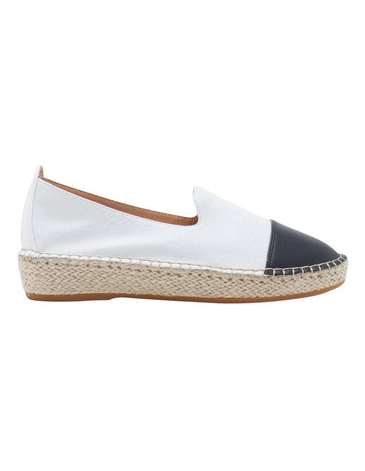 Banu White Black Flat Shoe image 1