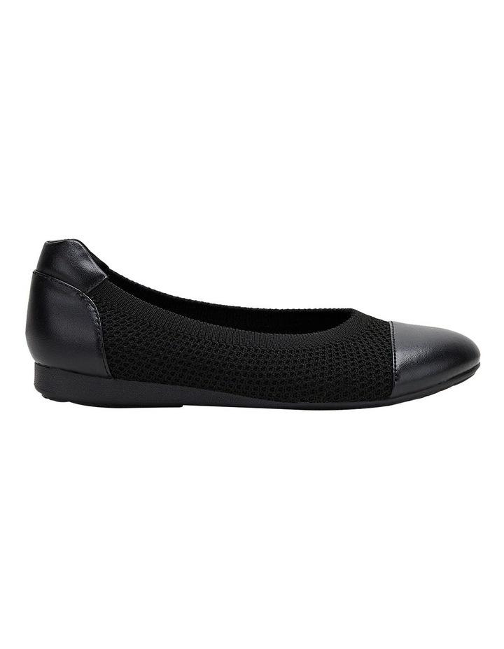 Bodhi Black Flat Shoe image 1