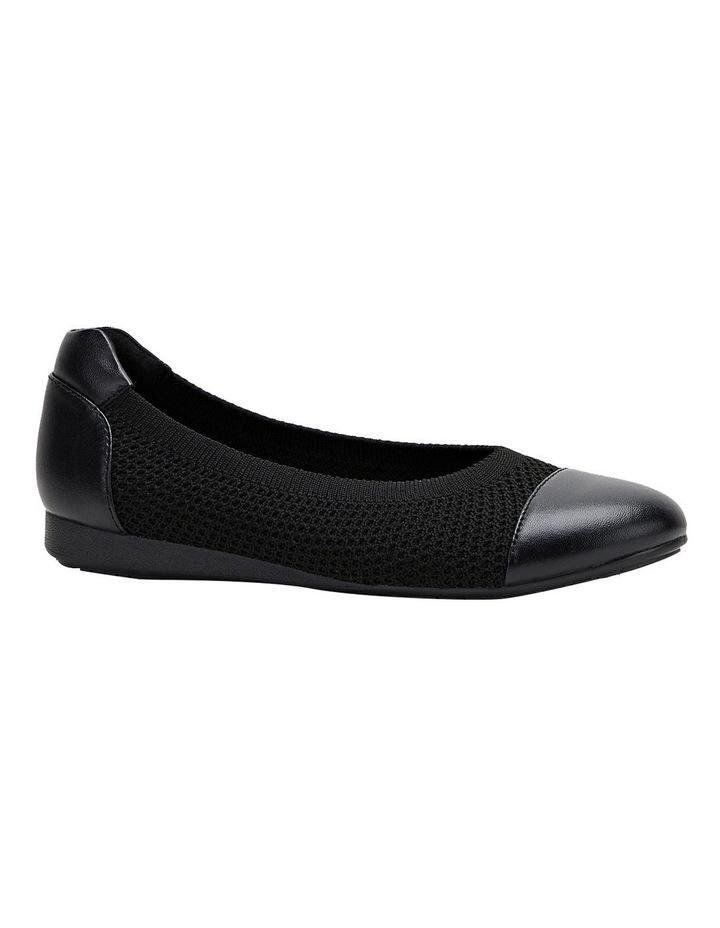 Bodhi Black Flat Shoe image 2