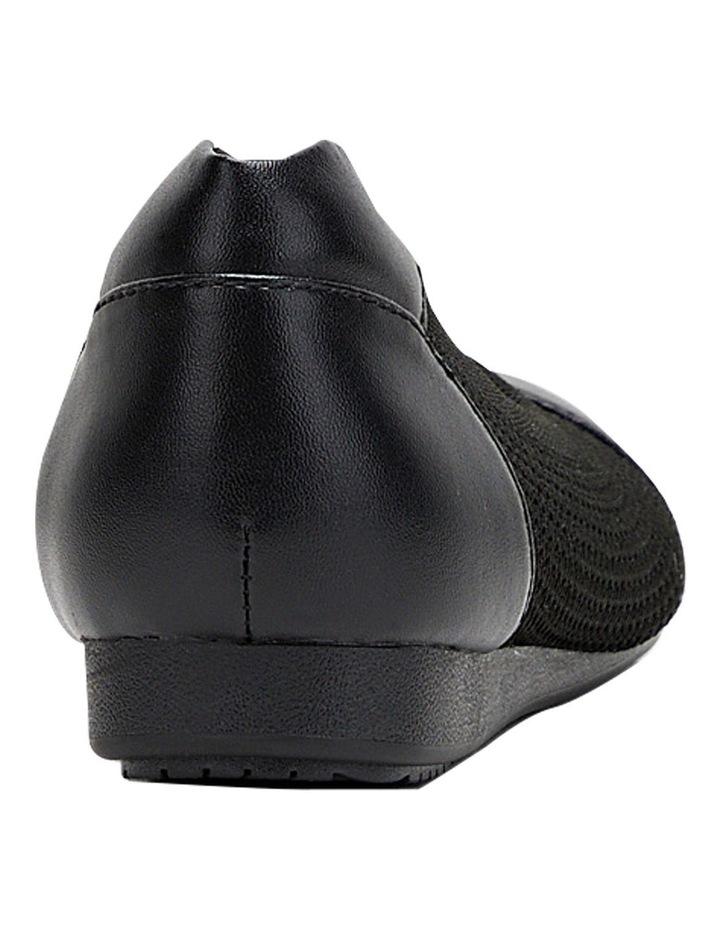 Bodhi Black Flat Shoe image 3