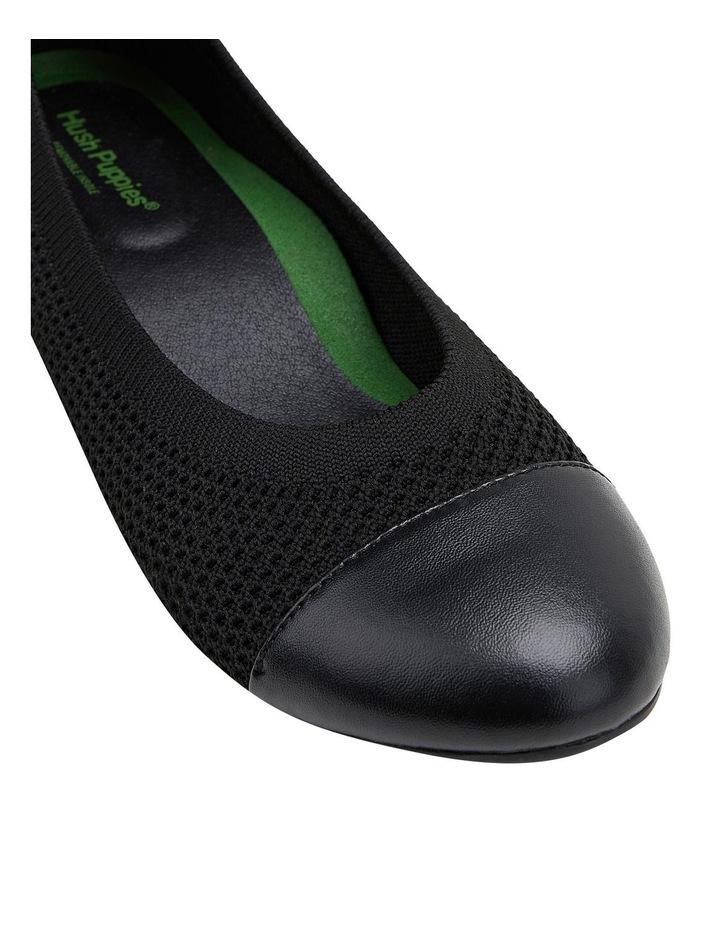 Bodhi Black Flat Shoe image 4