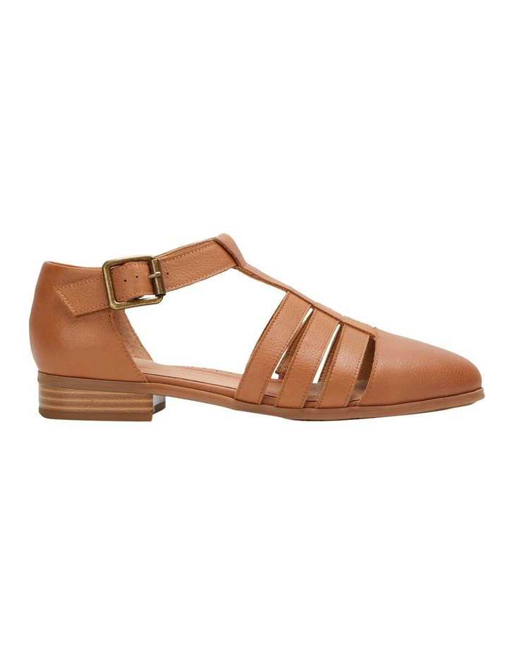Lola Tan Flat Shoe image 1