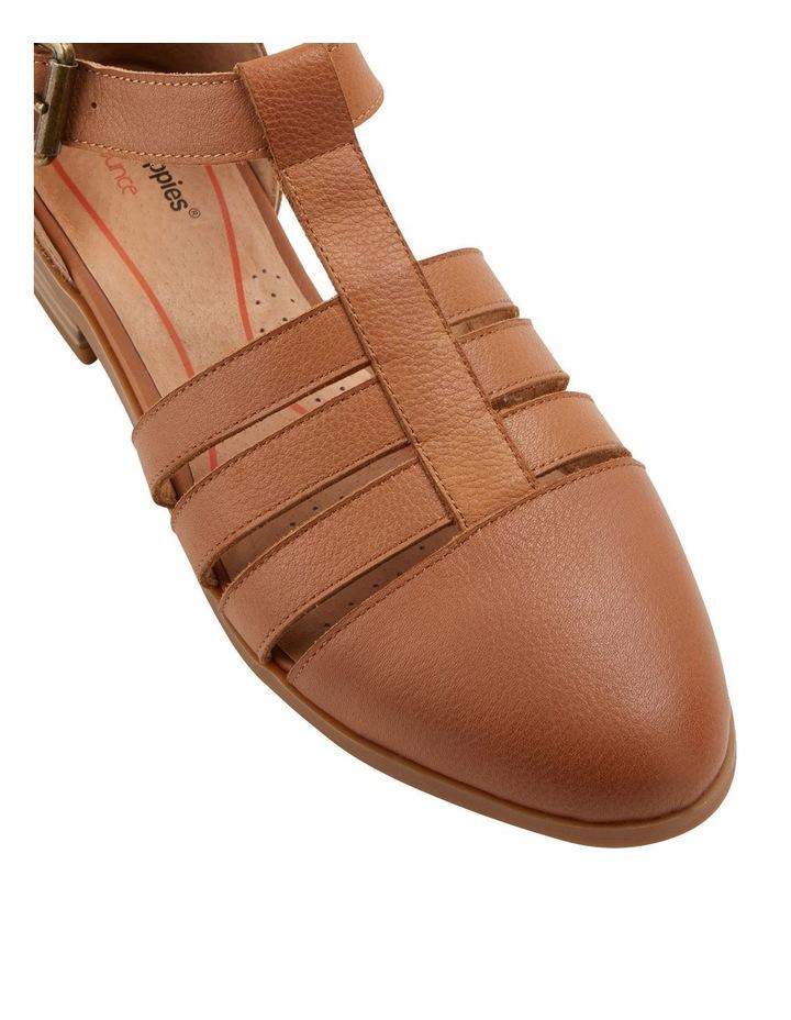 Lola Tan Flat Shoe image 2
