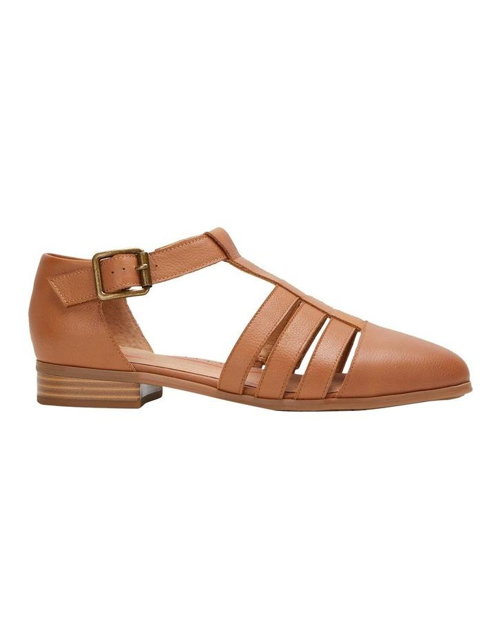 Lola Tan Flat Shoe image 3