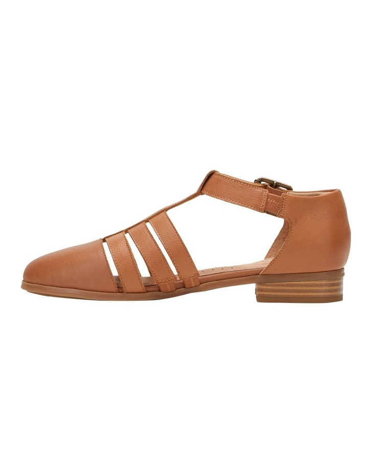Lola Tan Flat Shoe image 4