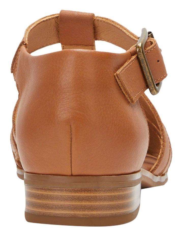 Lola Tan Flat Shoe image 5