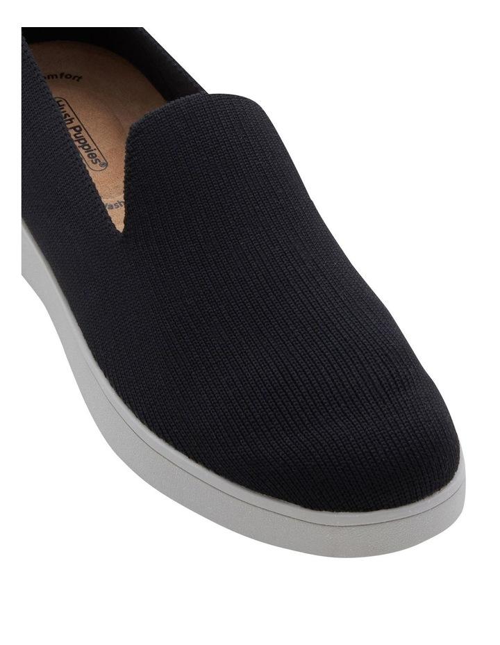 Martini Black Flat Shoe image 2