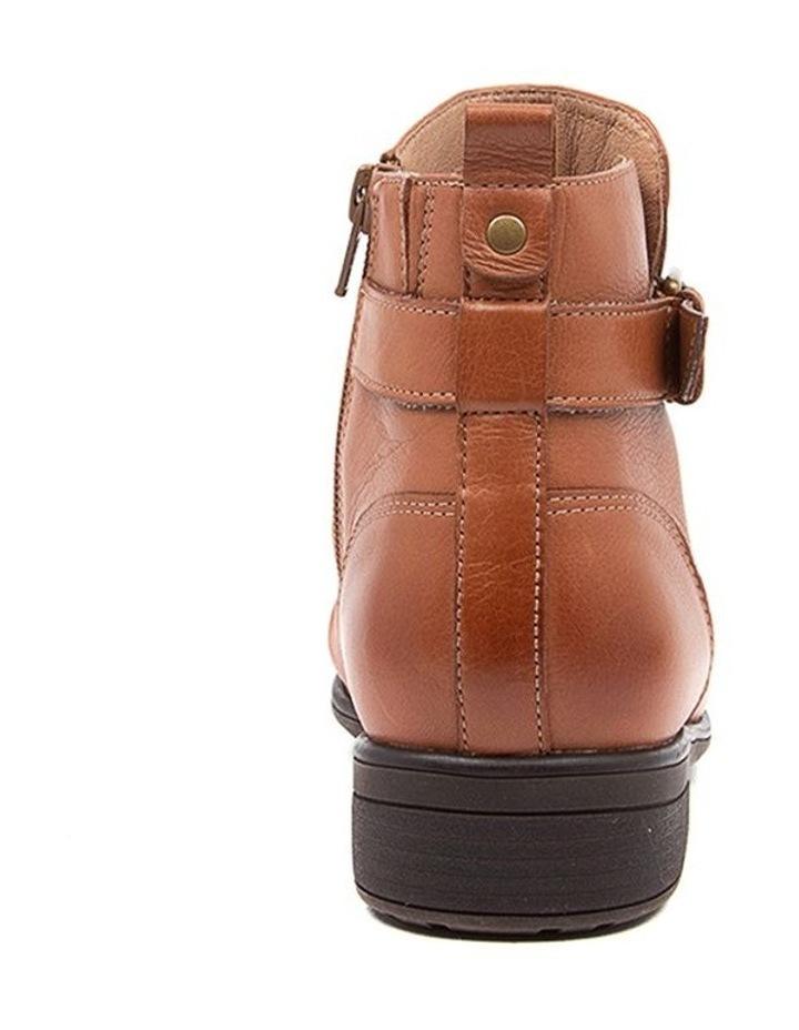 Edithvale Boot Dark Tan Euro Leather image 4
