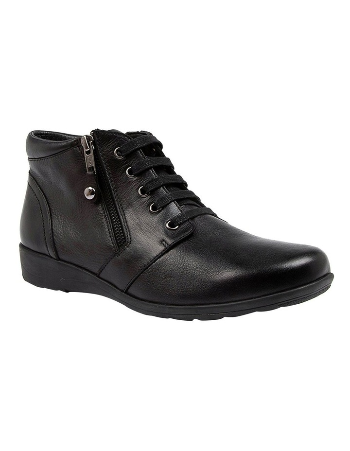 Poan Black Ankle Boot image 2