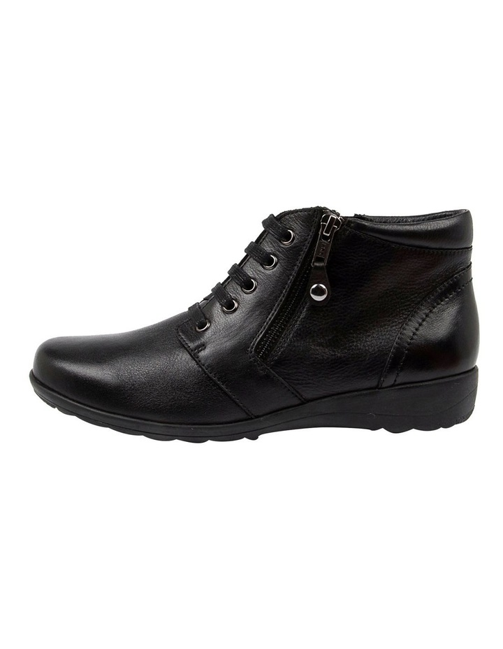 Poan Black Ankle Boot image 3