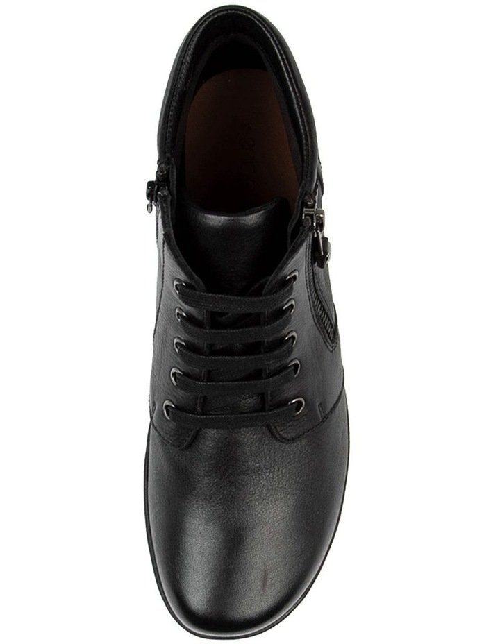 Poan Black Ankle Boot image 4