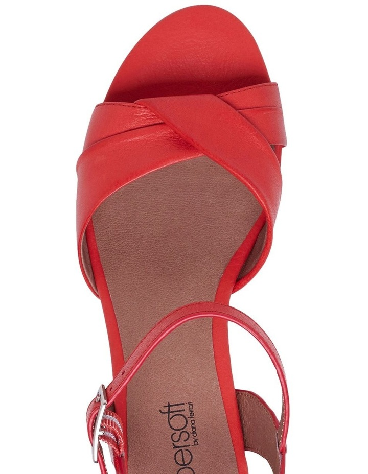 Cleantha 2 Coral Sandal image 8