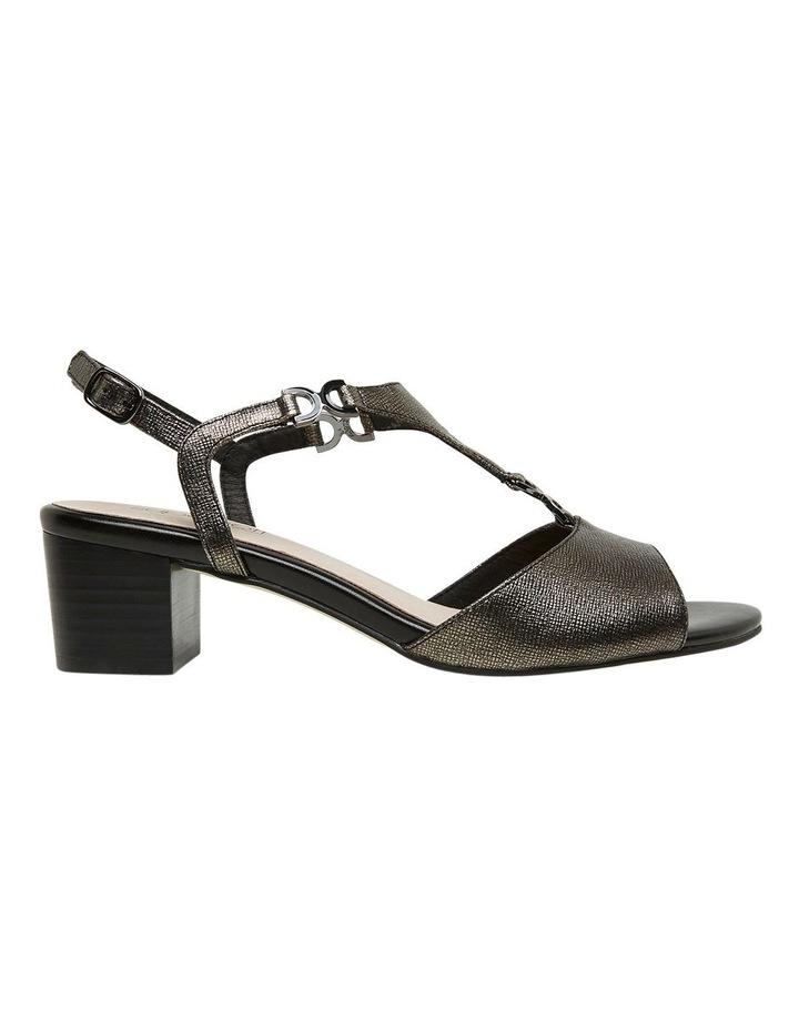 Cosmia Black Metallic Sandal image 2