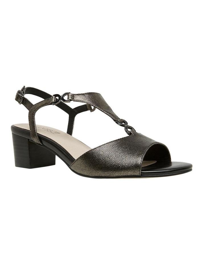 Cosmia Black Metallic Sandal image 4