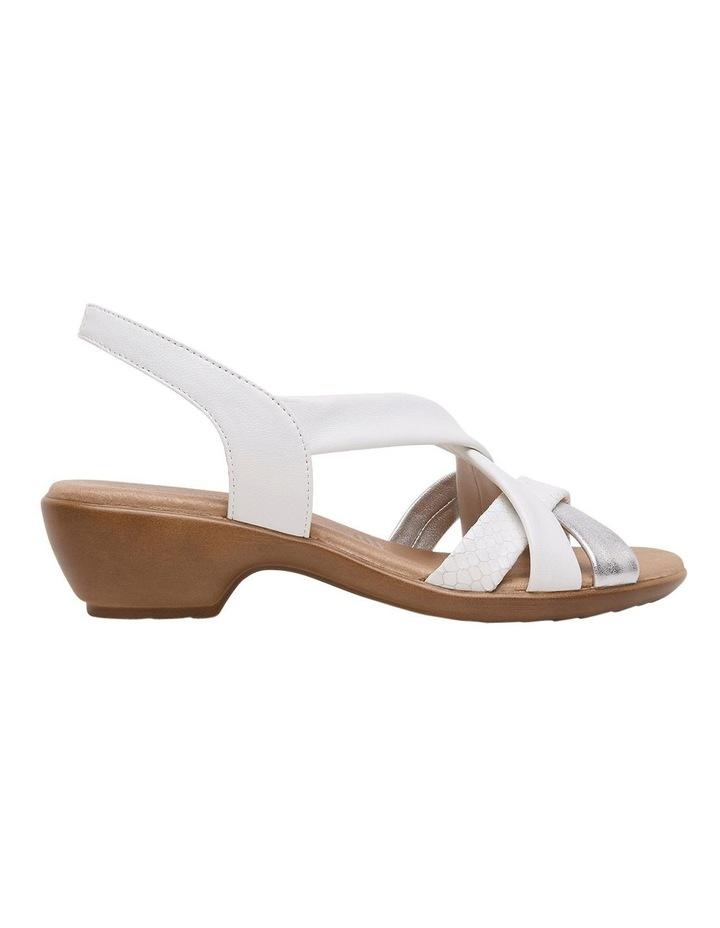 Demala White Multi Sandal image 2