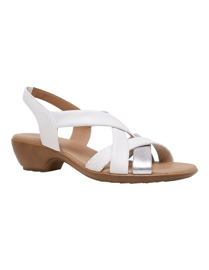 Demala White Multi Sandal image 4