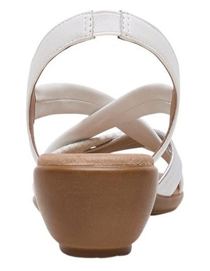 Demala White Multi Sandal image 6