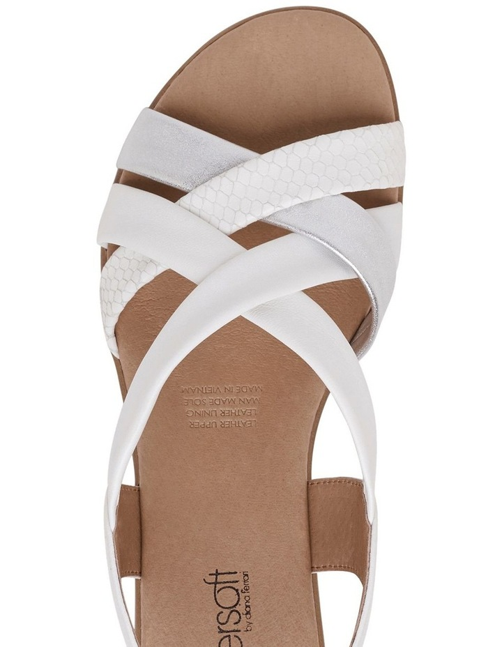 Demala White Multi Sandal image 7