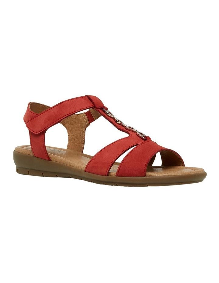 Ferraro Dark Red Nap Sandal image 4