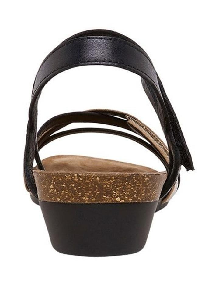 Queisha Black Multi Sandal image 5