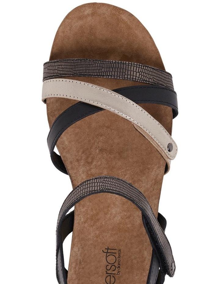 Queisha Black Multi Sandal image 7