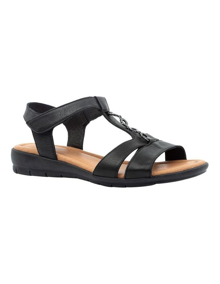 Ferraro Black Sandal image 2