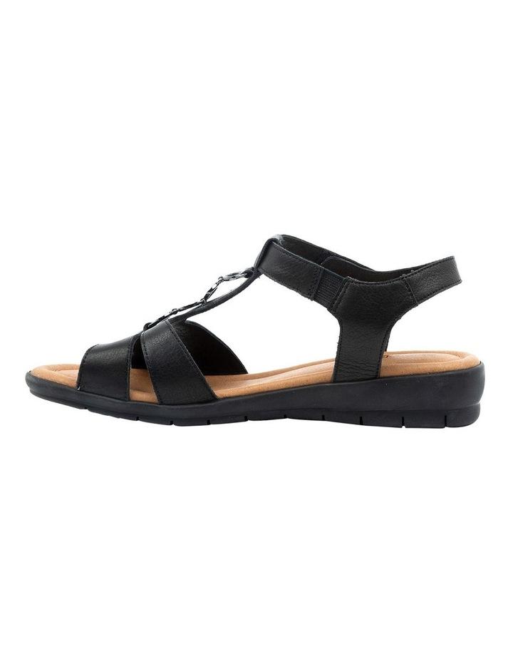 Ferraro Black Sandal image 3