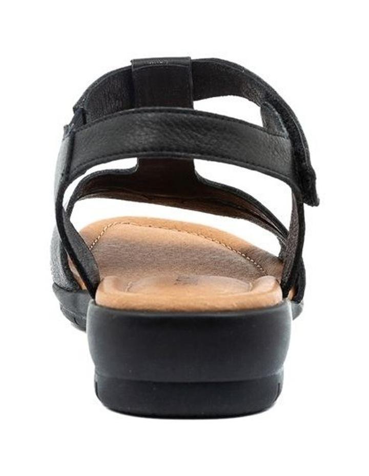 Ferraro Black Sandal image 4