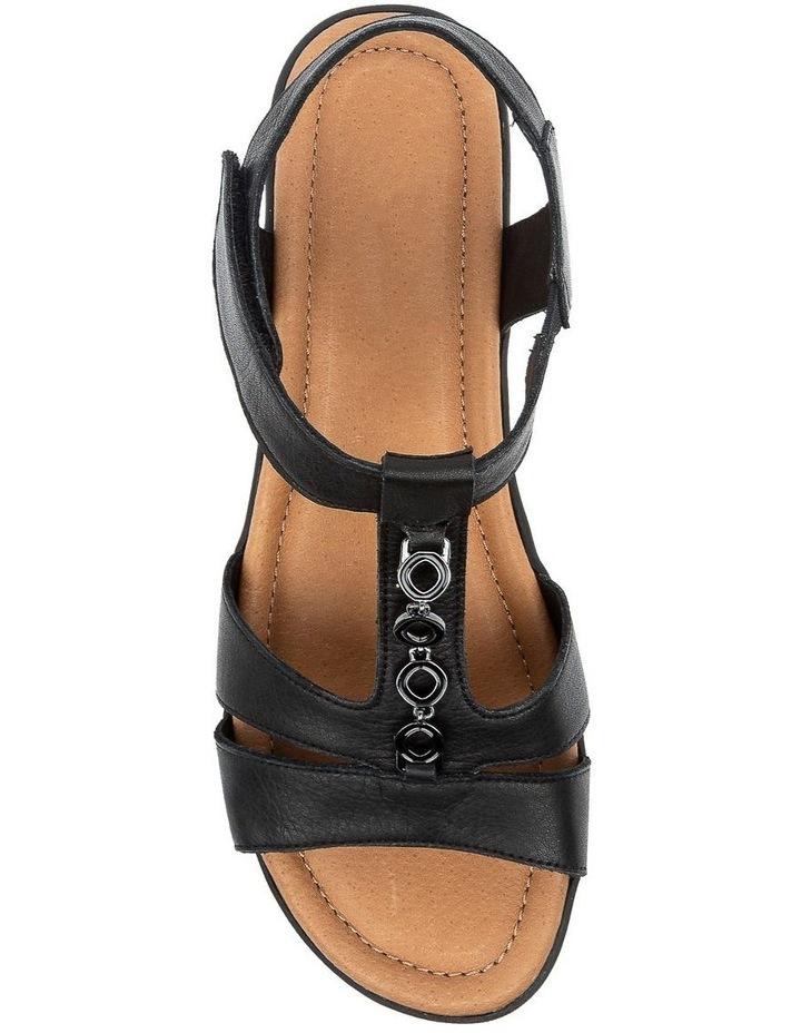 Ferraro Black Sandal image 5
