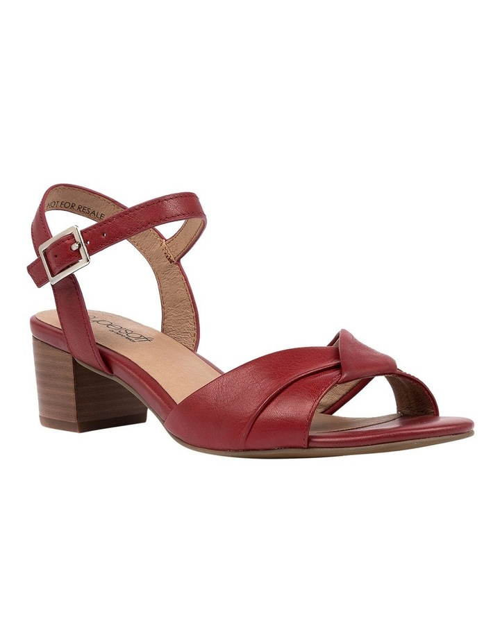 Cleantha2 Red Sandal image 2