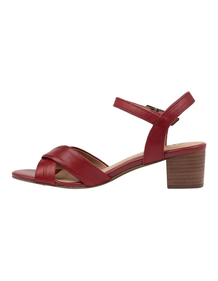 Cleantha2 Red Sandal image 3