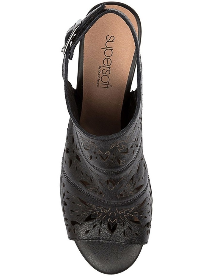 Duttons Black Sandal image 5