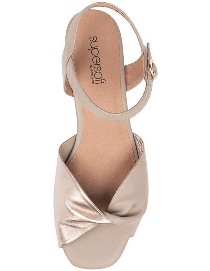 Swanney Pale Taupe Champagne Sandal image 5