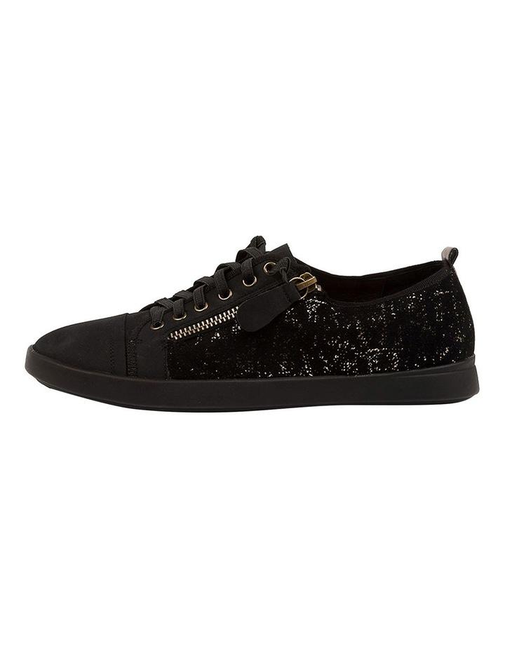 Adelaide Black Metallic Sneaker image 3