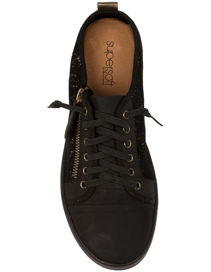 Adelaide Black Metallic Sneaker image 4