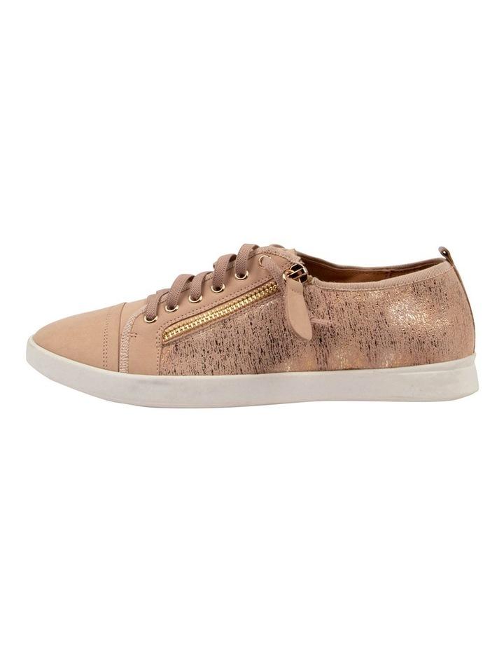Adelaide Blush Metallic Sneaker image 3